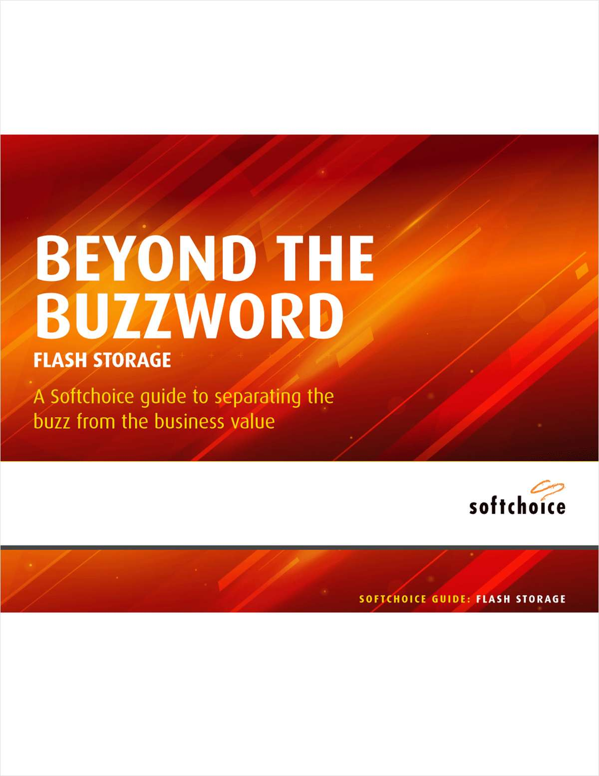 Go Beyond The Buzzword: Flash Storage
