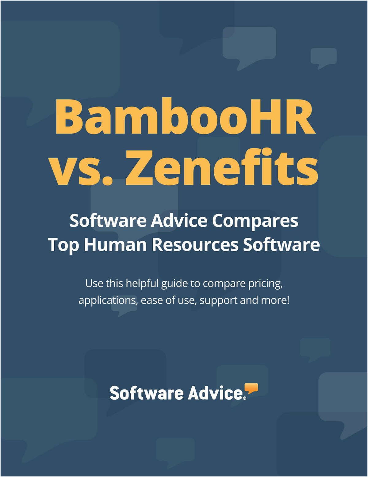 BambooHR vs. Zenefits - Compare Top Human Resources Software Systems