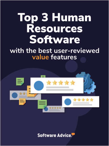 Top 3 Human Resources Software With the Best User-Reviewed Value Features