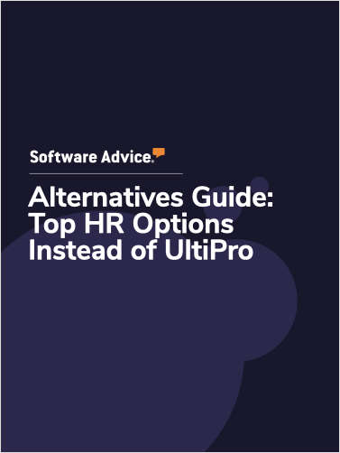 Software Advice Alternatives Guide: 5 Top HR Options Instead of UltiPro