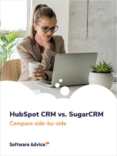 Choosing CRM software? Compare HubSpot CRM vs. SugarCRM side-by-side.