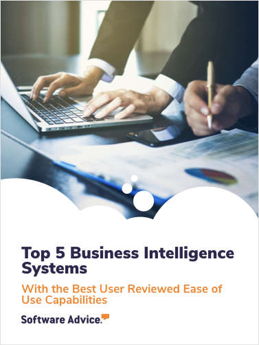 Top 5 Business Intelligence Software With the Best User Reviewed Ease of Use Capabilities