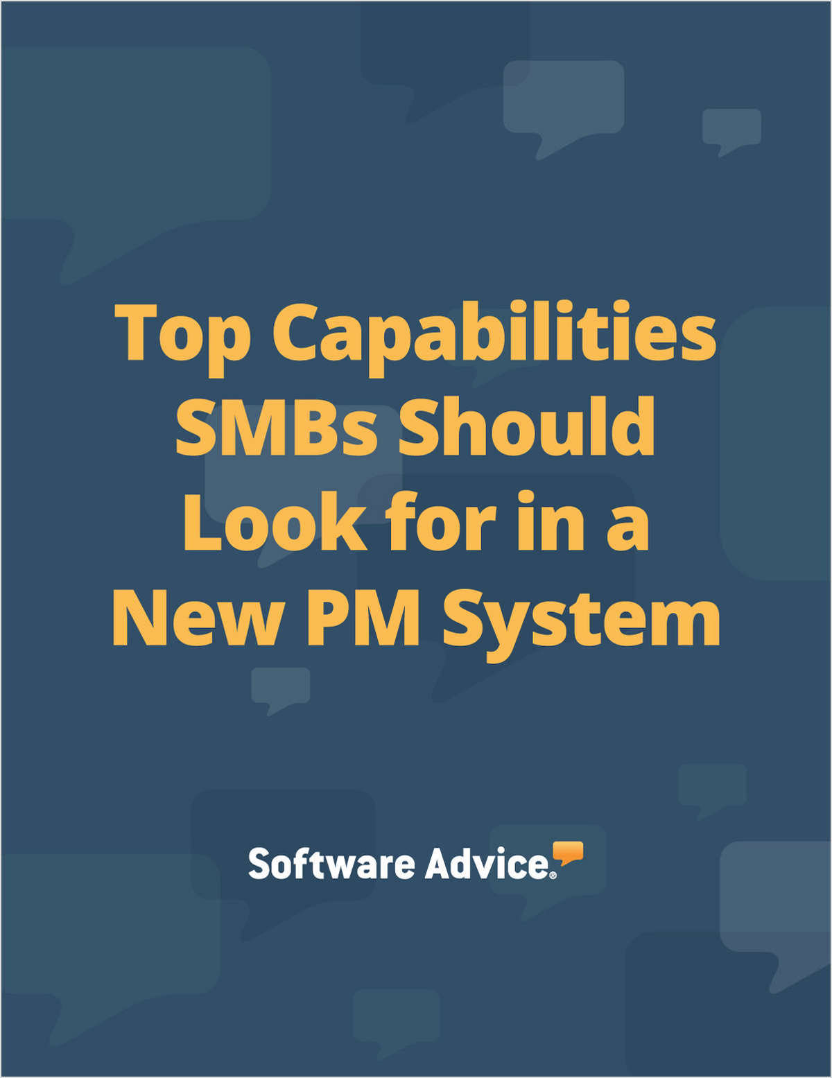 Top Capabilities SMBs Should Look for in a New PM System