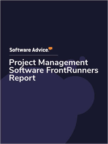 2020 FrontRunners for Project Management Software