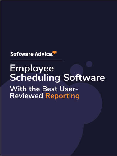 Top 3 Employee Scheduling Software With the Best User-Reviewed Reporting Capabilities