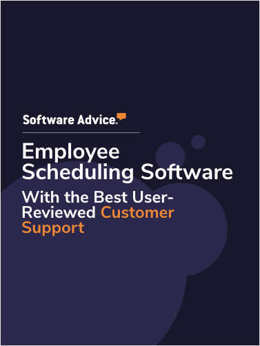 Top 3 Employee Scheduling Software With the Best User Reviewed Customer Support Capabilities