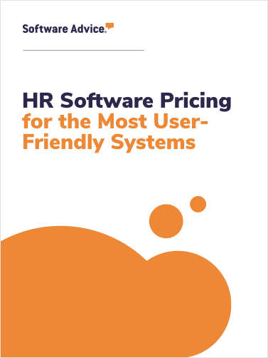 HR Software Pricing for the Most User-Friendly Systems