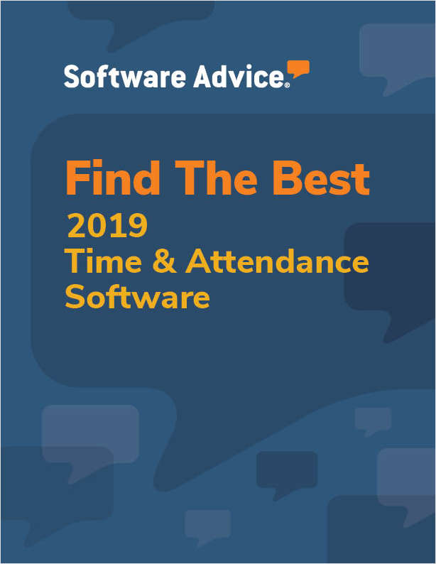 Find the Best 2017 Time and Attendance Software - Get FREE Custom Price Quotes