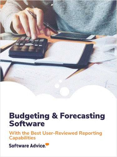 Top 3 Budgeting and Forecasting Software With the Best User-Reviewed Reporting Capabilities