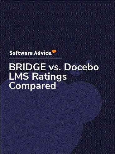 BRIDGE vs. Docebo LMS Ratings Compared