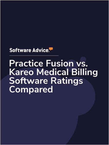 Practice Fusion vs. Kareo Medical Billing Software Ratings Compared
