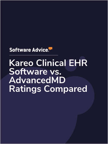 Kareo Clinical EHR Software vs. AdvancedMD Ratings Compared