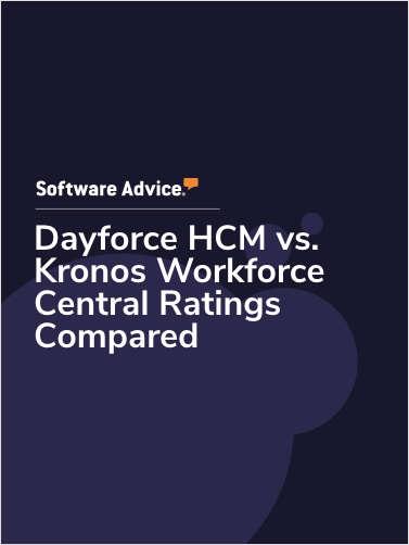 Dayforce HCM vs. Kronos Workforce Central Ratings Compared