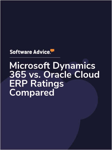 Microsoft Dynamics 365 vs. Oracle Cloud ERP Ratings Compared