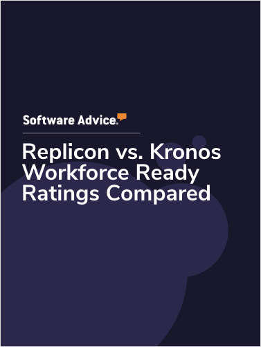Replicon vs. Kronos Workforce Ready Ratings Compared
