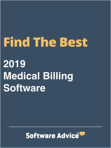 Find the Best 2018 Medical Billing Software - Get FREE Customized Recommendations