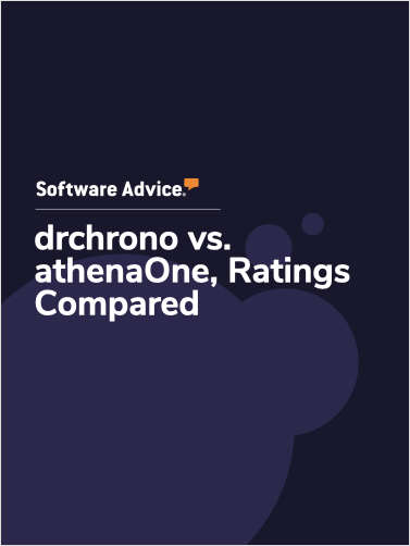 drchrono vs. athenaOne Ratings, Compared