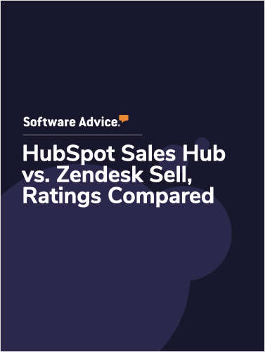 HubSpot Sales Hub vs. Zendesk Sell Ratings, Compared