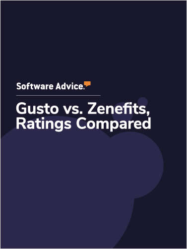 Gusto vs. Zenefits Ratings, Compared