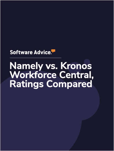 Namely vs. Kronos Workforce Central Ratings, Compared