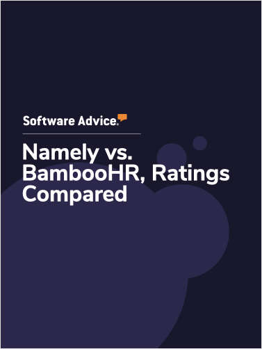 Namely vs. BambooHR Ratings, Compared