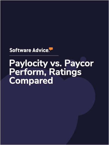 Paylocity vs. Paycor Perform Ratings, Compared