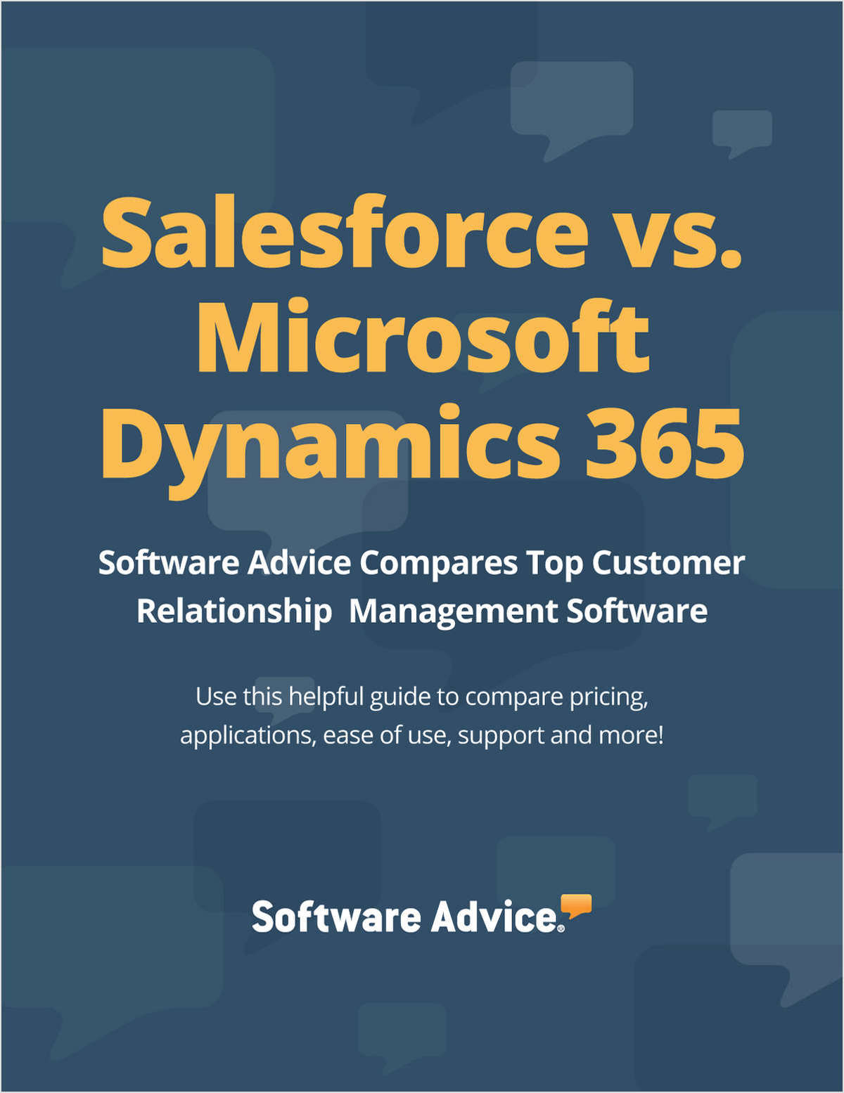 Salesforce vs. Microsoft Dynamics 365 - Compare Top Customer Relationship Management Software Systems