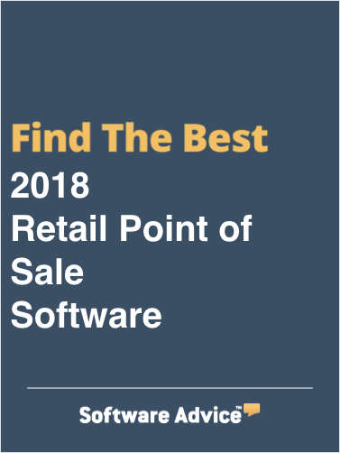 Find the Best 2018 Retail POS Software - Get FREE Customized Recommendations