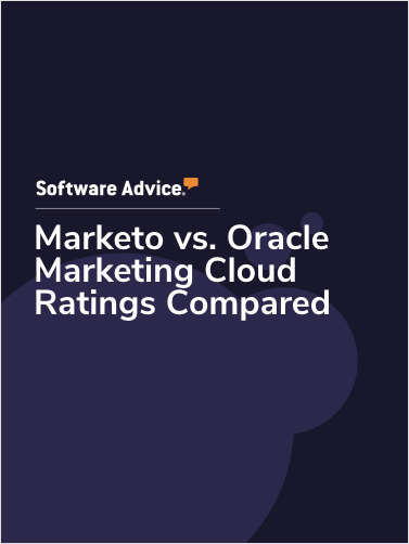 Marketo vs. Oracle Marketing Cloud Ratings Compared