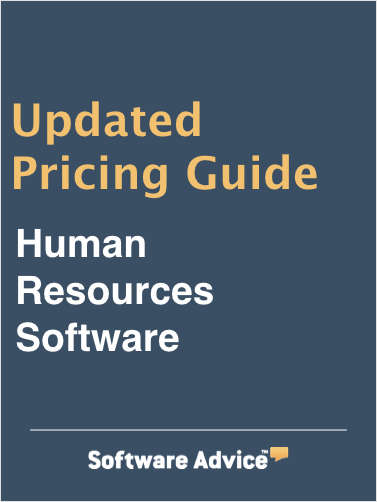 2017 Human Resources Software Pricing Guide