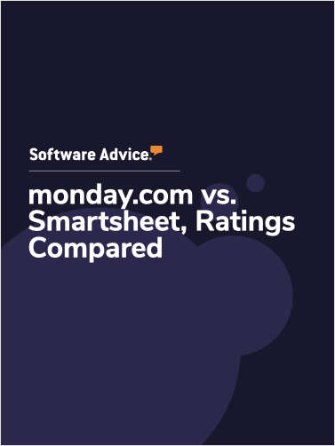 monday.com vs. Smartsheet Ratings, Compared