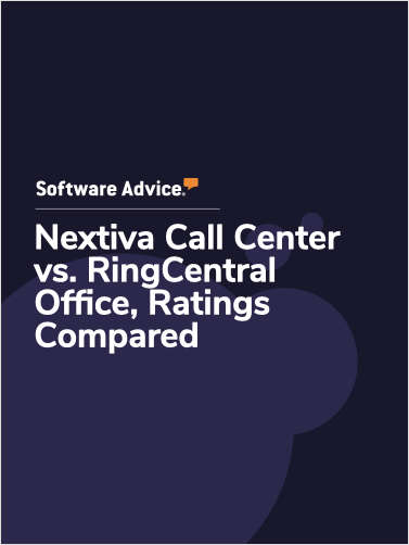 Nextiva Call Center vs. RingCentral Office Ratings, Compared