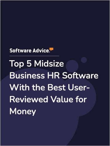 Top 5 Midsize Business HR Software With the Best User-Reviewed Value for Money