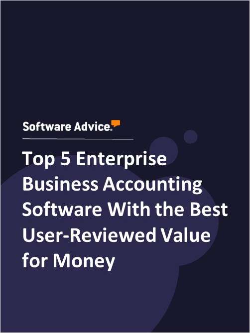 Top 5 Enterprise Business Accounting Software With the Best User-Reviewed Value for Money