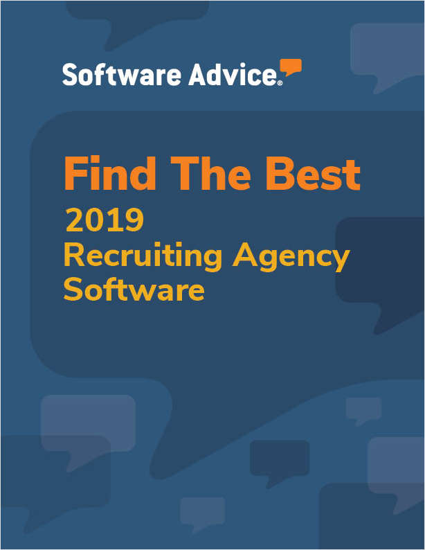 Find the Best 2019 Recruiting Agency Software for Your Business