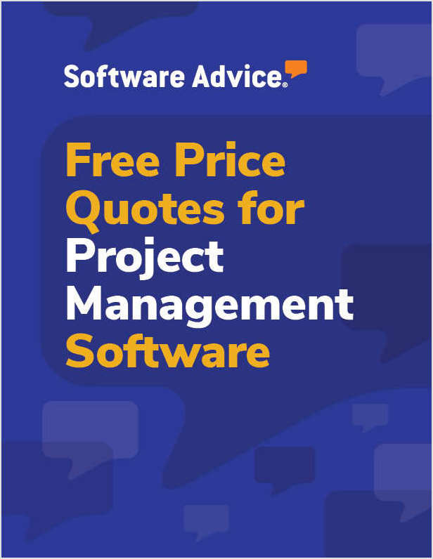 What does project management software cost? Get a free price quote