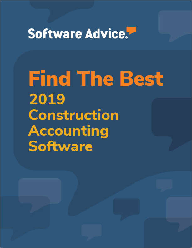 Find the Best 2017 Construction Accounting Software - Get FREE Custom Price Quotes