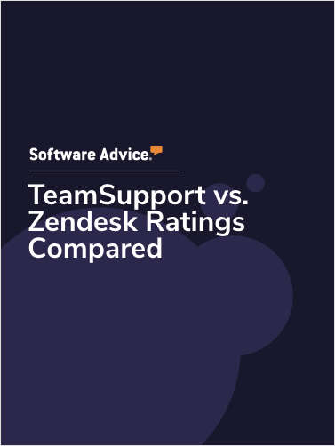 TeamSupport vs. Zendesk Ratings Compared