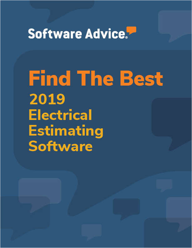 How Software Advice Can Help With Your Electrical Estimating Software Search