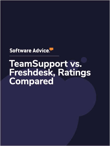 TeamSupport vs. Freshdesk Ratings, Compared
