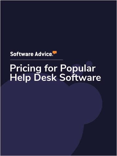 Pricing for Popular Help Desk Software