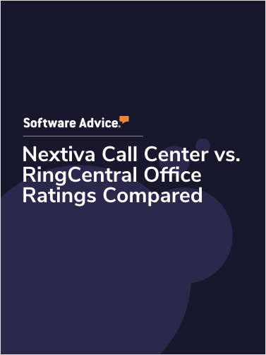 Nextiva Call Center vs. RingCentral Office Ratings Compared