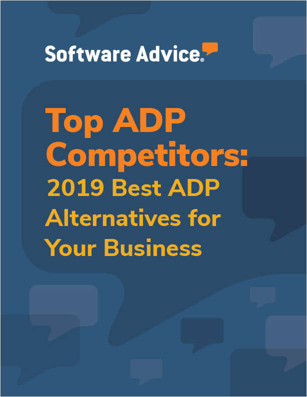 Software Advice Alternatives - Top 5 ADP Competitors
