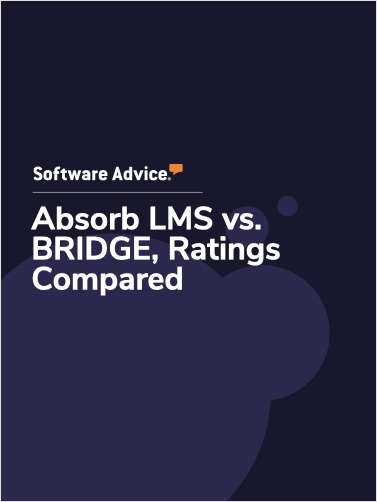 Absorb LMS vs. BRIDGE Ratings, Compared