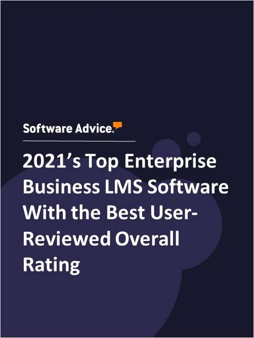 2021's Top Enterprise Business LMS Software With the Best User-Reviewed Overall Rating