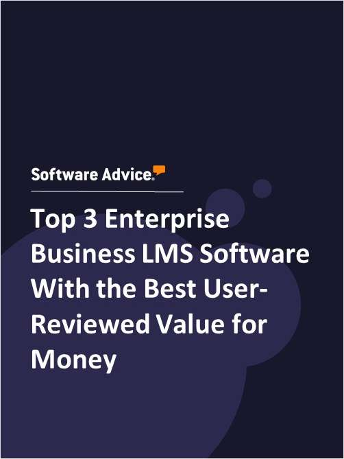 Top 3 Enterprise Business LMS Software With the Best User-Reviewed Value for Money