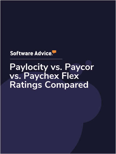 Paylocity vs. Paycor vs. Paychex Flex Ratings Compared