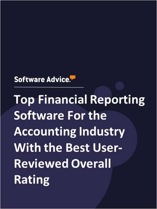 Top Financial Reporting Software For the Accounting Industry With the Best User-Reviewed Overall Rating