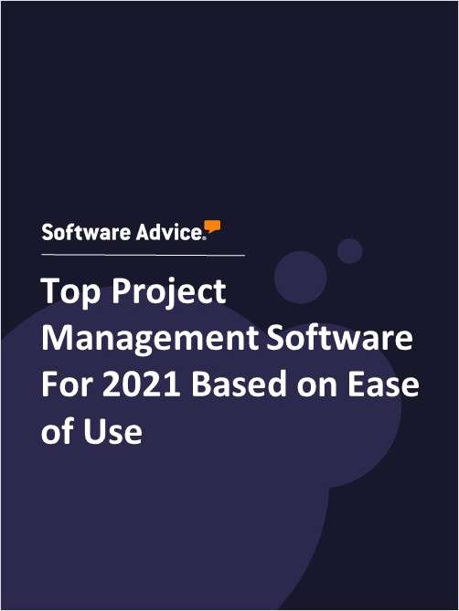 Top Project Management Software For 2021 Based on Ease of Use