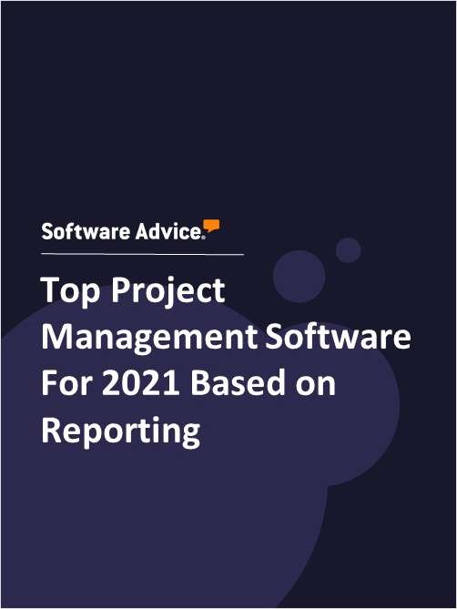 Top Project Management Software For 2021 Based on Reporting